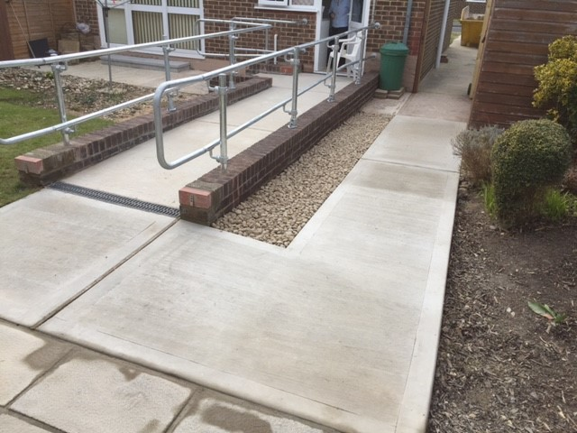 Access Provision for Disabled Resident